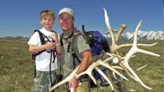 Boy Scouts Antler Pick Up - National Elk Refuge // 2012