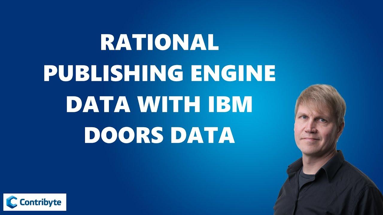 Rational Publishing Engine data with IBM DOORS data  sc 1 st  YouTube & Rational Publishing Engine data with IBM DOORS data - YouTube