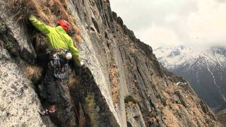 Big Wall climbing - India, region of Kinnaur.