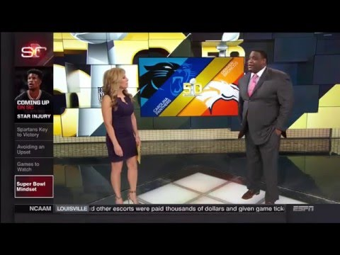 Linda Cohn and Sara Walsh (ESPN)