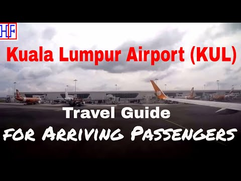 Kuala Lumpur International Airport (KUL) to KL Sentral by Train (KLIA Ekspres) | Travel Guide