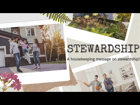 Stewardship Message - (Message Only)