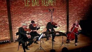 Quatuor Ludwig // Ravel string quartet, 1st mvt (extrait)