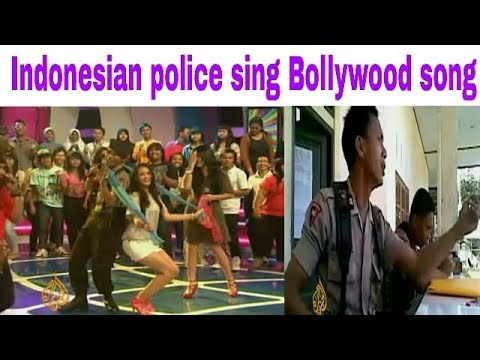 Indonesian police sing Bollywood song HD