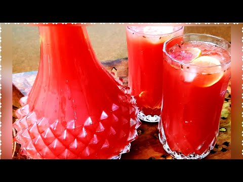 Ruh-Afza Aur Tarbooz Ka Sharbat | तरबूज़ का शर्बत ऐसे भी बनाइये | Cook With Monika