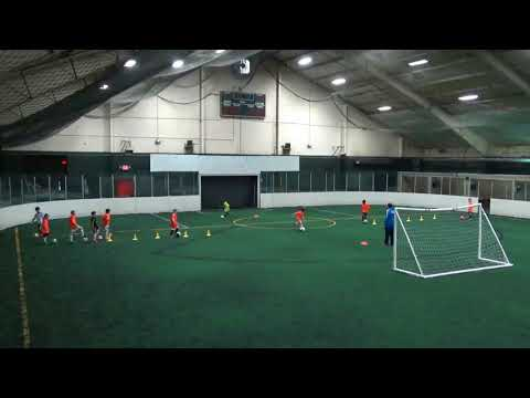 Wizards SC Jr Elite Academy (2010) Training: 4/4/18
