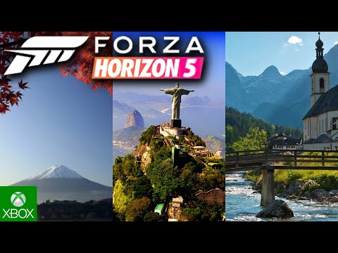 Forza Horizon 5   Welcome to Japan, Brazil, Germany, Poland, & California! (Fan-Made Trailer Comp)