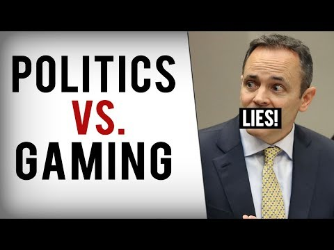 Politicians Keep Blaming Video Games For Real Violence...