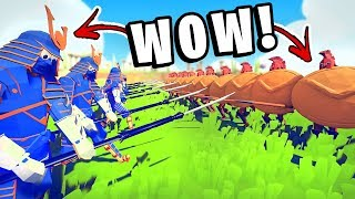 TABS - WOW! These Units Are So Good! They Easily Beat Spartans - Totally Accurate Battle Simulator