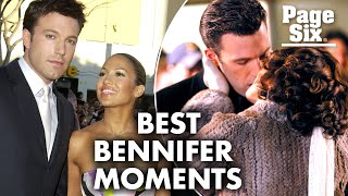 A look back at Ben Affleck and Jennifer Lopez's relationship moments | Page Six Celebrity News