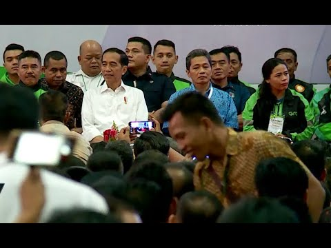 Jokowi Marah Bila Meremehkan Profesi Pengemudi Online