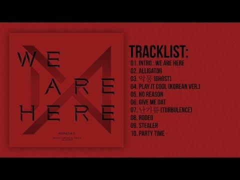 [Full Album] MONSTA X (몬스타엑스) - WE ARE HERE – The 2nd Album Take.2