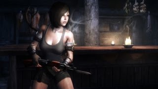Skyrim: Modern Firearms MOD (HD)