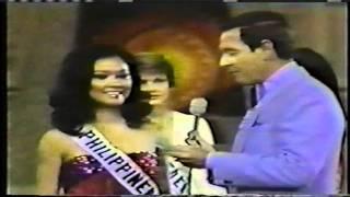 Miss Universe 1975 Top 5 & Final Question