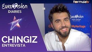 """Eurovisión 2019: Chingiz (Azerbaiyán) canta flamenco con """"Esta sí, esta no"""" - Entrevista"""