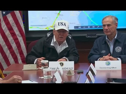 BREAKING: President Trump Gives CRUCIAL Press briefing on Hurricane Harvey in Austin Texas