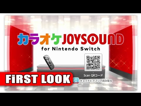 Karaoke JOYSOUND for Nintendo Switch | First look (JP eShop)