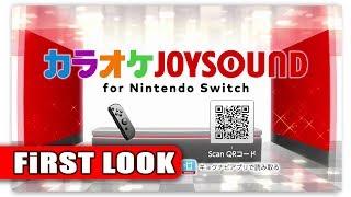 Karaoke JOYSOUND for Nintendo Switch | First look (JP eShop)