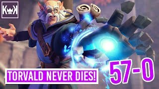 Torvald Never Dies! 57-0 | Paladins (Console PS4 Pro 1080p 60fps)