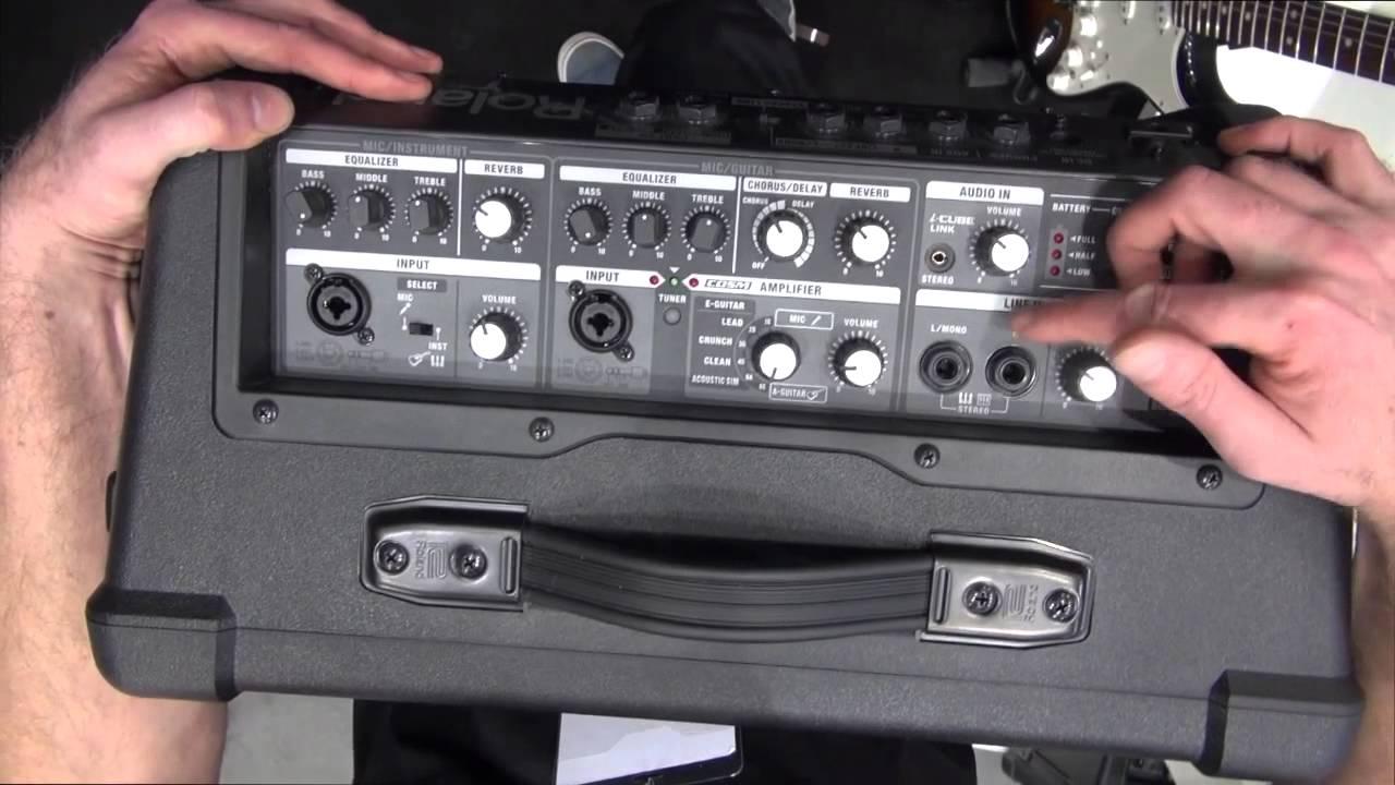 Roland Street Cube Ex : musikmesse roland cube street ex english youtube ~ Russianpoet.info Haus und Dekorationen