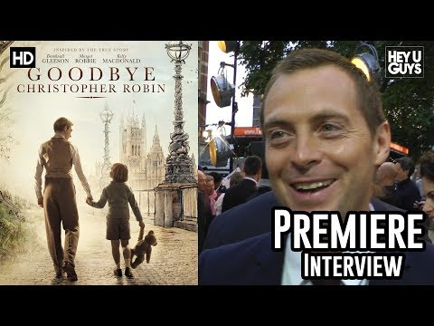 Stephen Campbell Moore | Goodbye Christopher Robin Premiere Interview