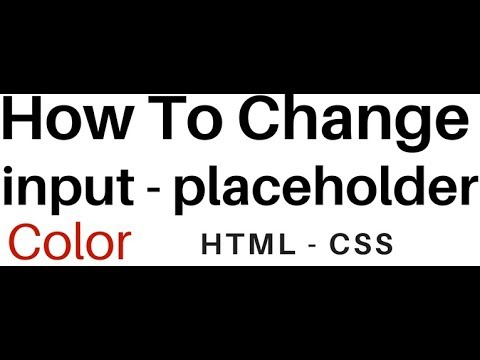 How to put color in textbox in html