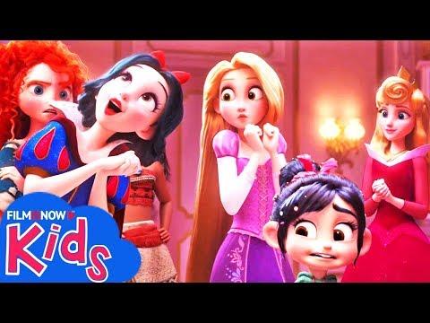 RALPH SPACCA INTERNET | Vanellope incontra le Principesse Disney nel Nuovo Trailer Italiano
