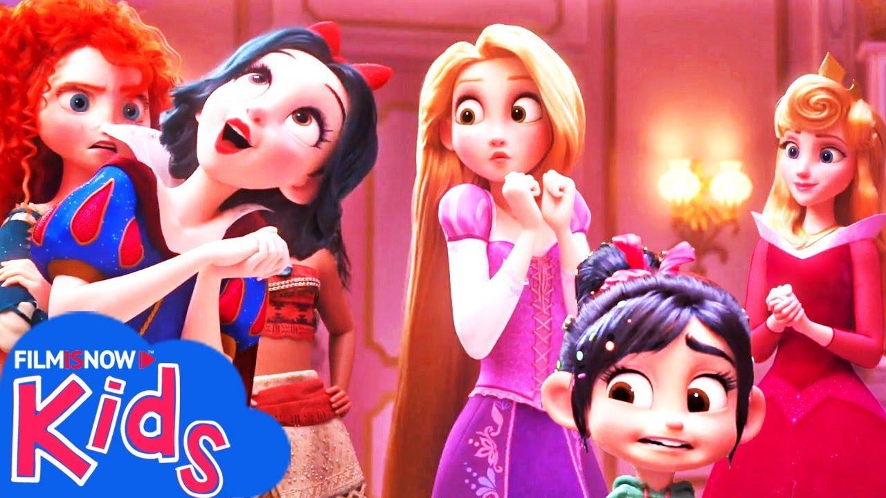 ralph spacca internet  RALPH SPACCA INTERNET | Vanellope incontra le Principesse Disney nel ...