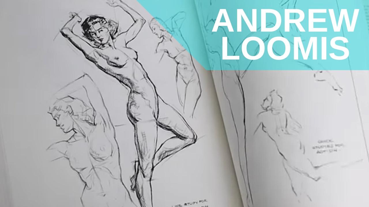FIGURA HUMANA: EL mejor libro y Por qué. Andrew Loomis. Descarga ...