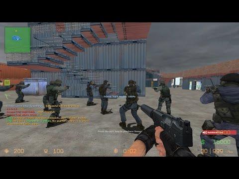 Counter-Strike Source: Map: Zm_lila_panic_173 #Gameplay