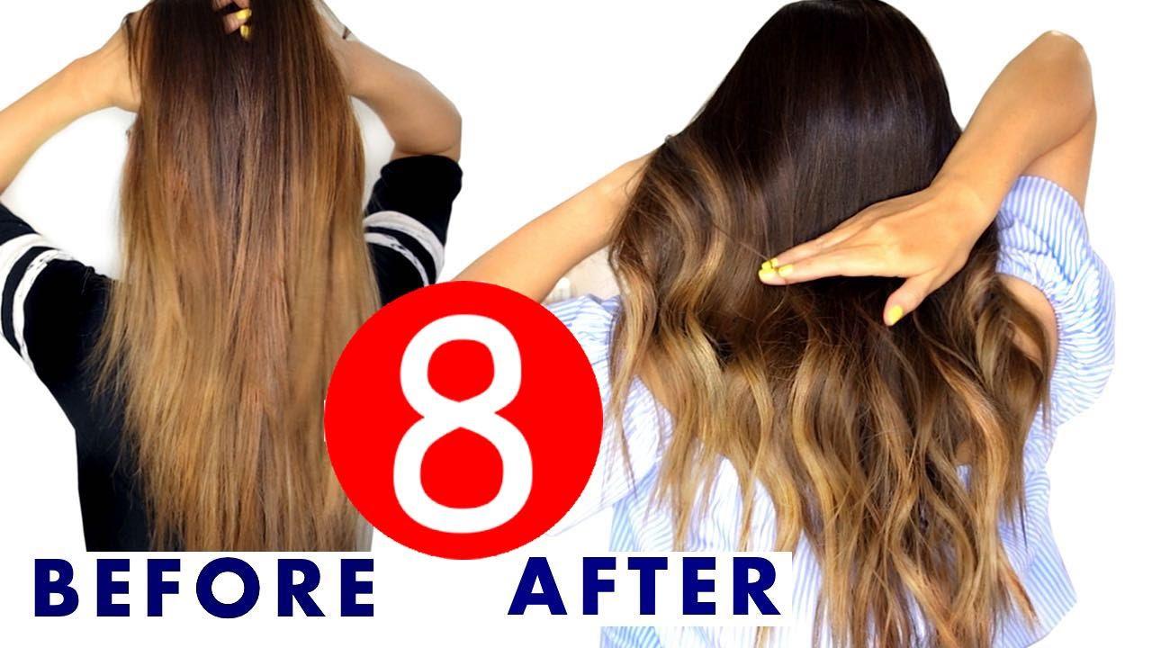 8 easy hair color & ombre hacks