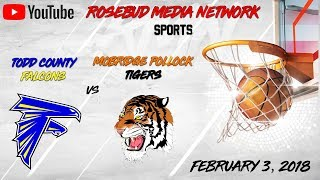Todd County Falcons VS Mobridge Pollock Tigers