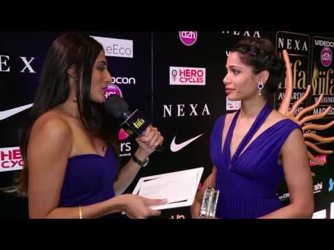 Slumdog Millionaire actress Freida Pinto at IIFA 2016