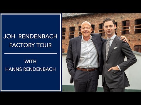JR Rendenbach Factory Tour - How Leather Soles Are Made With Hanns Rendenbach | Kirby Allison