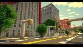 Minecraft карта - Огромный город!(На этой карте расположен один из самых больших городов майнкрафт. В городе есть: метро, много магазинов,..., 2013-01-18T16:07:13.000Z)
