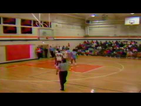 Greenville County HS Basketball '89  JL Mann Vs Carolina