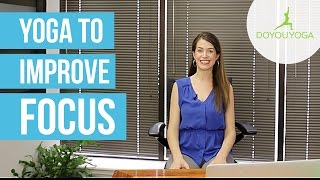 Office Yoga to Improve Focus | Day 1 | Office Yoga Challenge