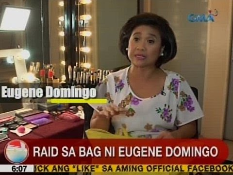UB: Raid sa bag ni Eugene Domingo