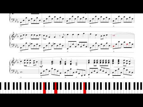 Turn Loose the Mermaids by Nightwish - Piano Tutorial