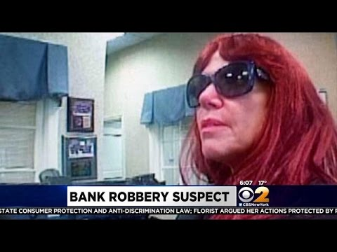 Hunt Continues In NJ For Wig-Wearing Bank Robbery Suspect