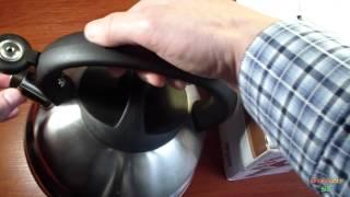 Обзор чайник со свистком KAISERHOFF №3786 2,5 л.