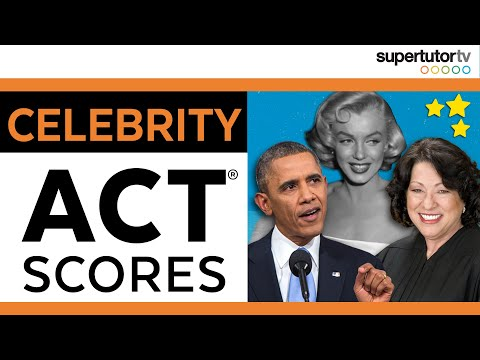Celebrity ACT Scores!
