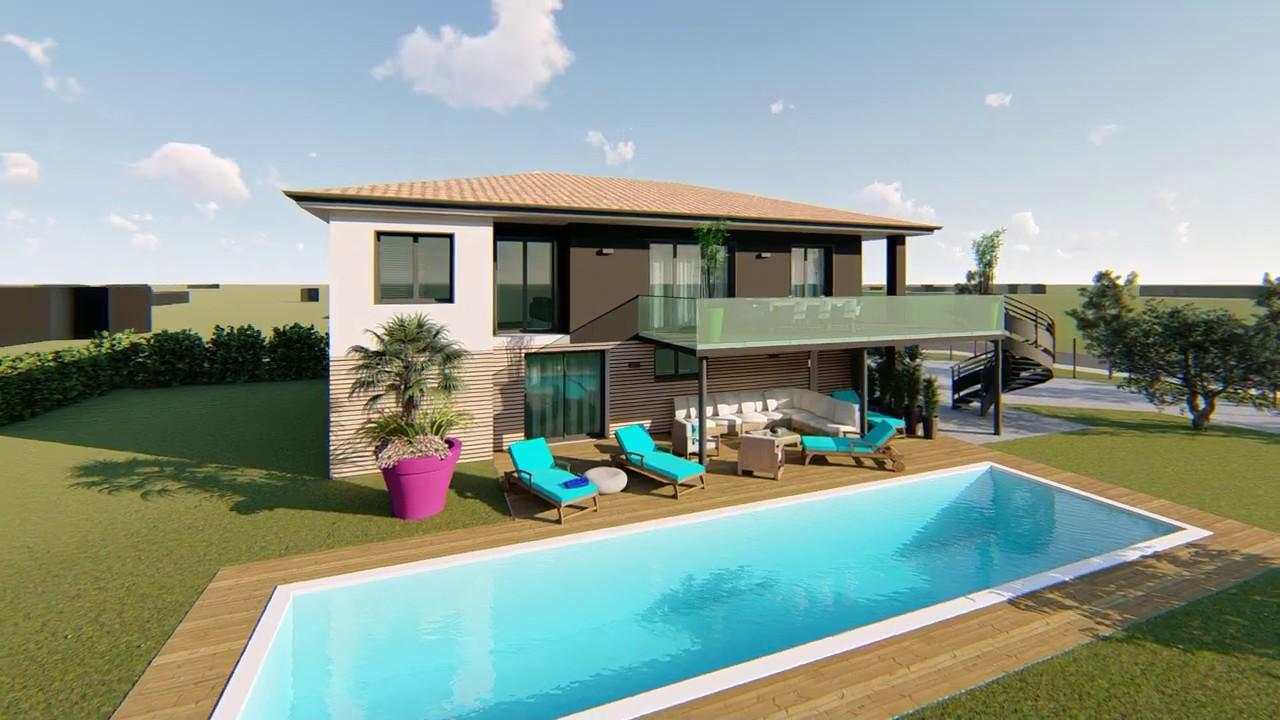 Rénovation de standing - Maison T6 de 161 m² à Brax (31490)