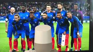 Équipe De France De Football Mondial 2018