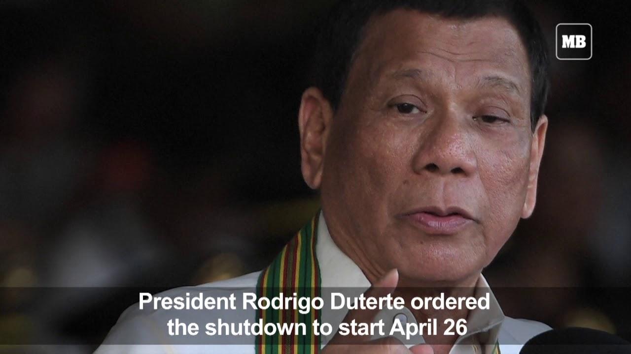 Duterte OKs 6 month Boracay shutdown