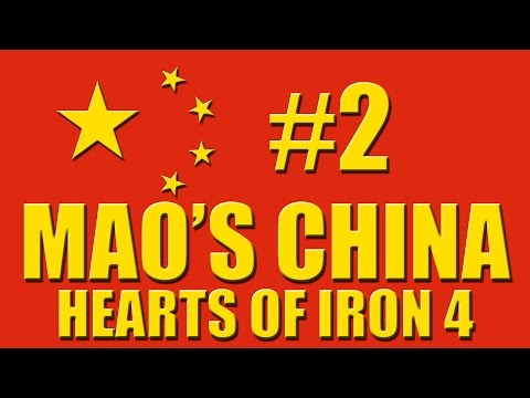 Let's play Hearts of Iron 4 - Mao's China - 2