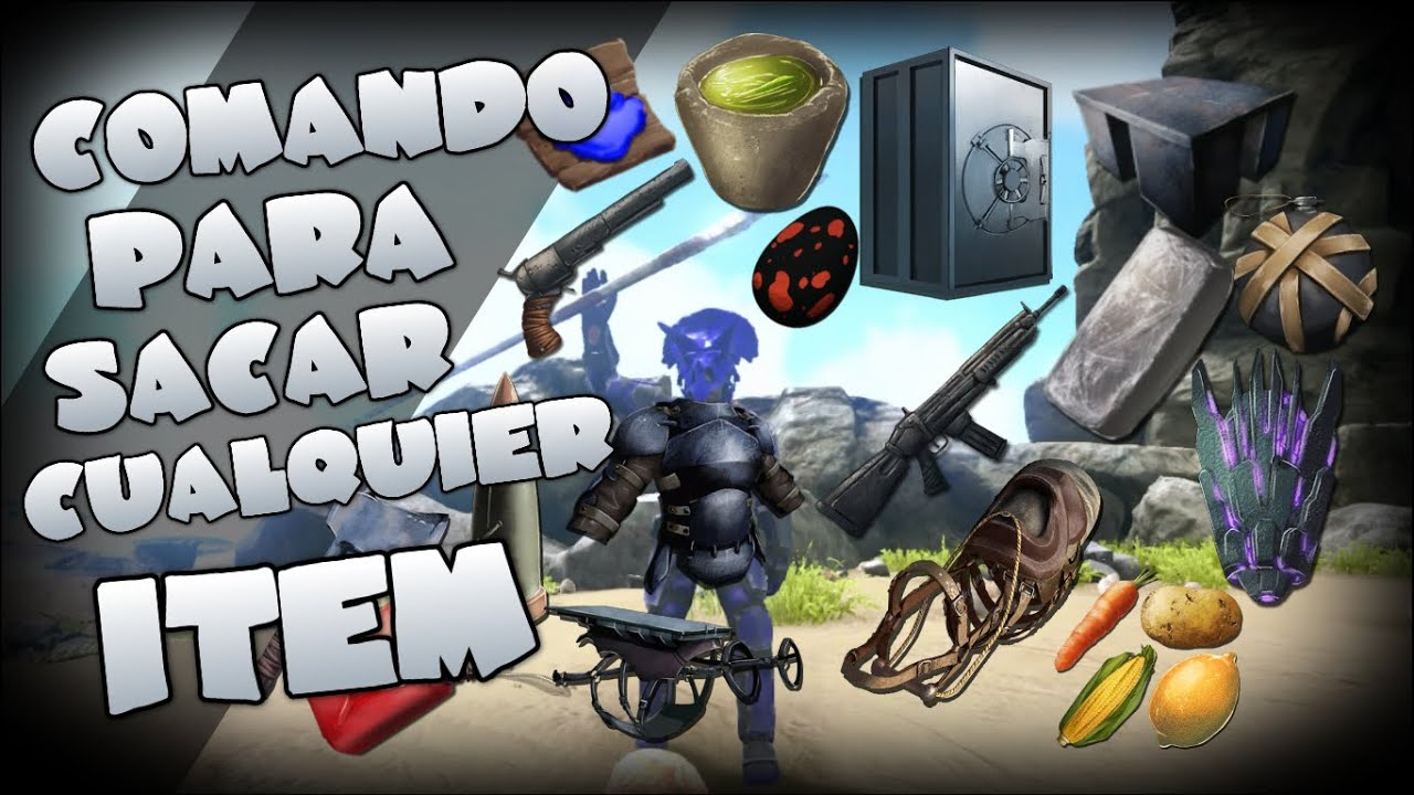 Comando para sacar items ark survival evolved xbox one youtube malvernweather Choice Image