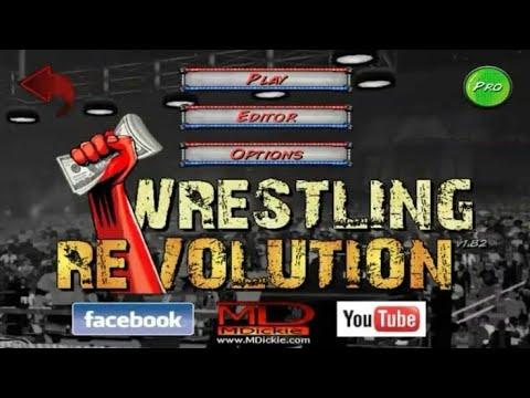 How To Download Wrestling Revolution Mod Full Unlock Apk