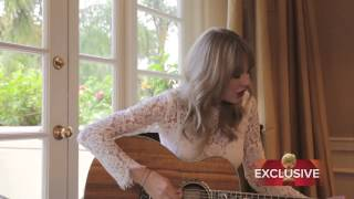 Taylor Swift sings Sweeter Than Fiction