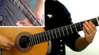 How To Play Spanish Guitar New Flamenco Gipsy Kings style - Lesson 3 - Mini Course